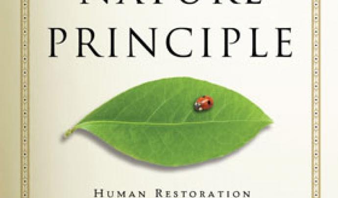 """Portada del llibre """"The nature principle"""" de Richard Louv Font: Richard Louv"""