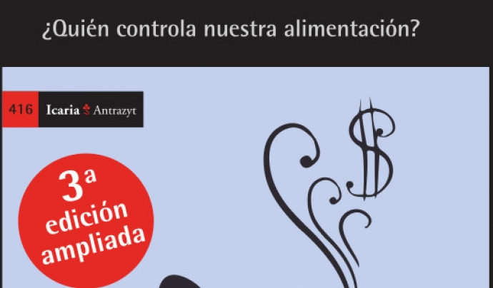 Esther Vivas és periodista especialitzada en mercats agroalimentaris  Font: Icaria Editorial