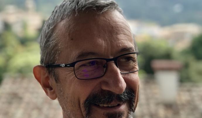 El pedagog Lluís Pagespetit, membre de la Societat Catalana d'Educació Ambiental   Font: Lluís Pagespetit