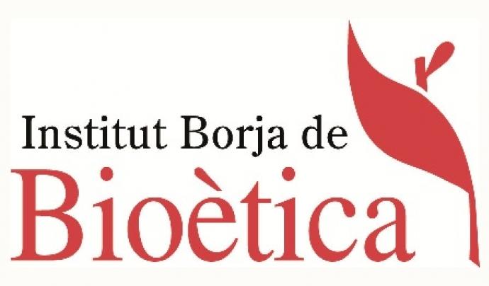 Logo de l'Institut Borja de Bioètica. Font: Institut Borja de Bioètica