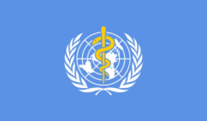 Logo de l'Organització Mundial de la Salut.