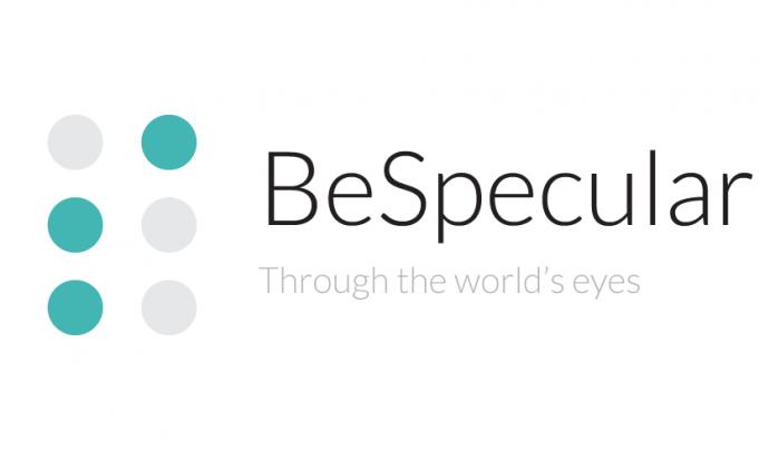 Logo de BeSpecular Font: BeSpecular