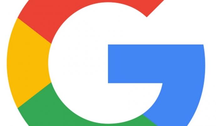 Logotip de Google.  Font: Google