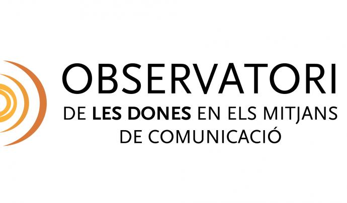 Logotip d'aquest observatori Font: Observatori de les dones en els mitjans de comunicació