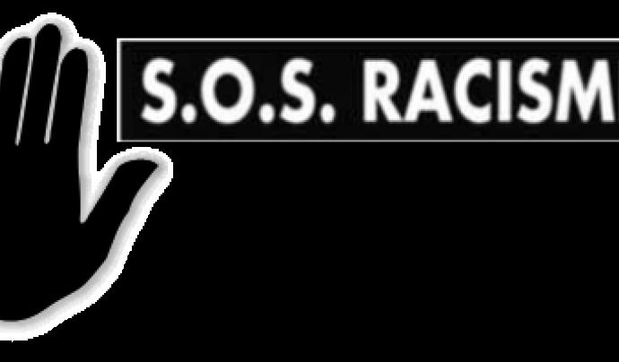 Logotip de SOS Racisme Font: SOS Racisme