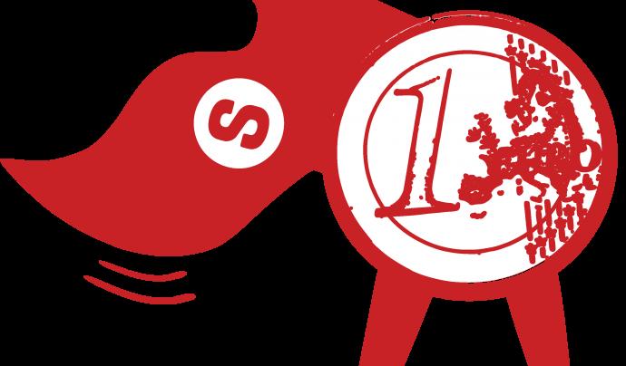 Logo de la campanya del Supereuro.