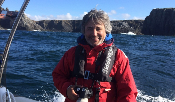 Manel Gazo, doctor en biologia animal  i director de Submon Font: Manel Gazo