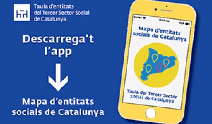 Imatge promocional del Mapa de les Entitats Socials Font: Taula del Tercer Sector