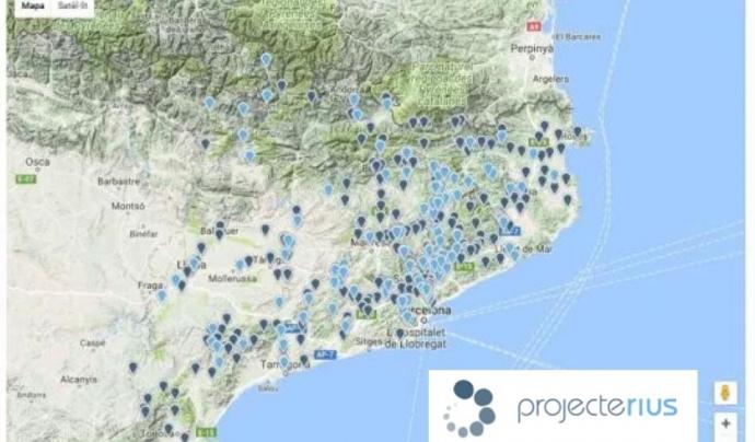 Es presenta una nova visualització de les dades del Projecte Rius