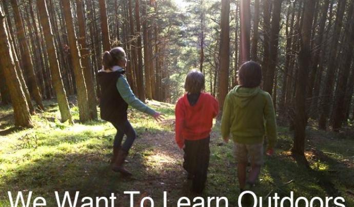Marghanita Hughes assesora escoles i comunitats en experiències educatives en la natura