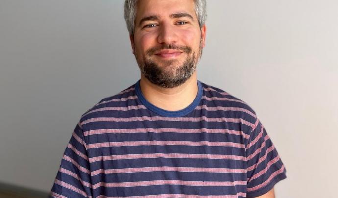 Martí Tovias és membre de l'equip tècnic de Som Connexió. Imatge de Martí Tovias.  Font: Martí Tovias
