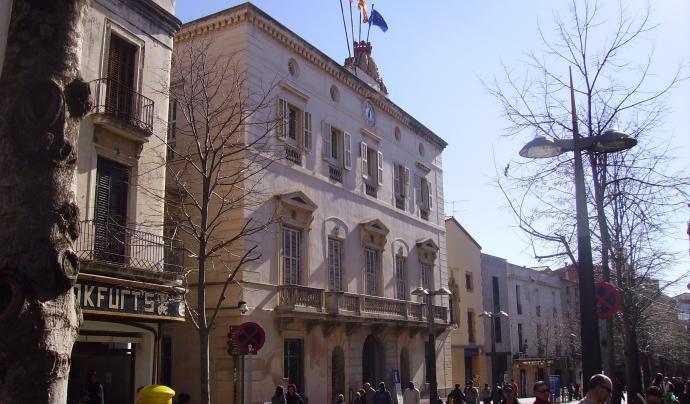 L'Ajuntament de Mataró. Font: Wikimedia