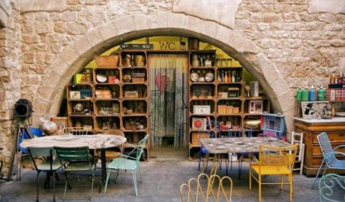Entrada principal del restaurant Mescladís.