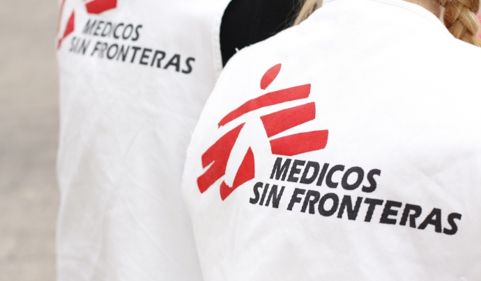 Logo de Metges Sense Fronteres.