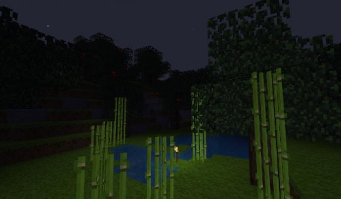 Captura de pantalla del joc Minetest. Font: Minetest