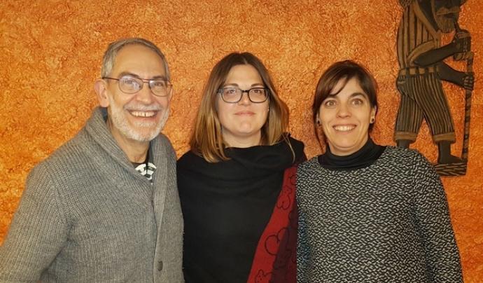 Mireia Catot, responsable de projectes d'ATAP Calders, al centre de la imatge. Font: ATAP Calders