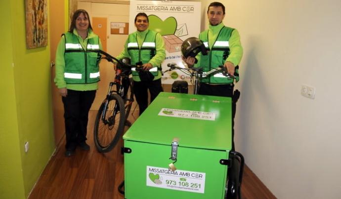 De moment es preveu donar servei en la ciutat de Lleida i més endavant també en els municipis de la rodalia  Font: Missatgers amb cor