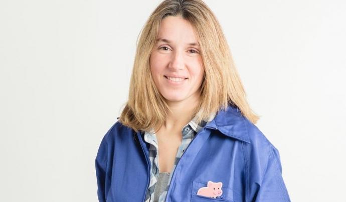 La Montse Cardona és pagesa al Solsonès i secretària de l'Associació de Dones del Món Rural.