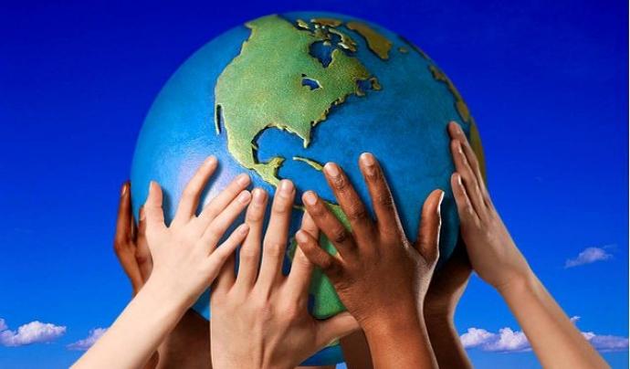 Diferents cultures convivint en un mateix món Font: Wikipedia