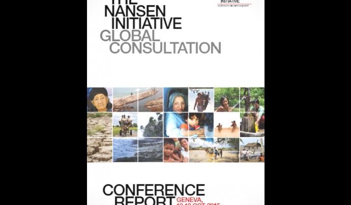 La iniciativa Nansen busca dotar de protecció  legal les persones refugiades per causes climàtiques Font: Nansen Iniciative