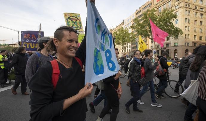 Manifestació Rebel·lió o Extinció Font: Nassam