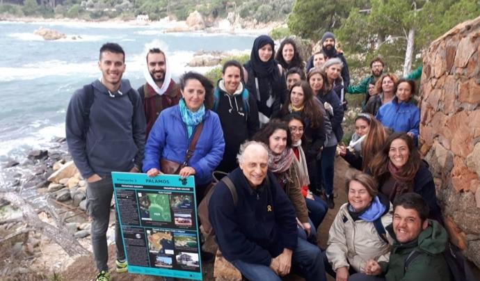 La defensa del territori sempre ha estat una de les línies d'acció de l'Associació, que els darrers temps s'ha implicat en la plataforma SOS Costa Brava Font: Associació de Naturalistes de Girona