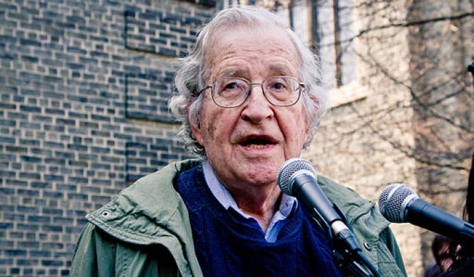 Noam Chomsky serà un dels guardonats del Premi Séan MacBride.