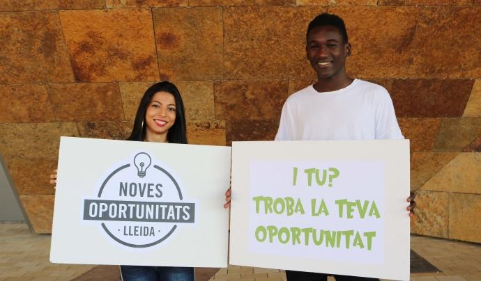 La Maria i en Mohamed han recuperat la il·lusió per trobar un lloc de feina. Font: Noves Oportunitats