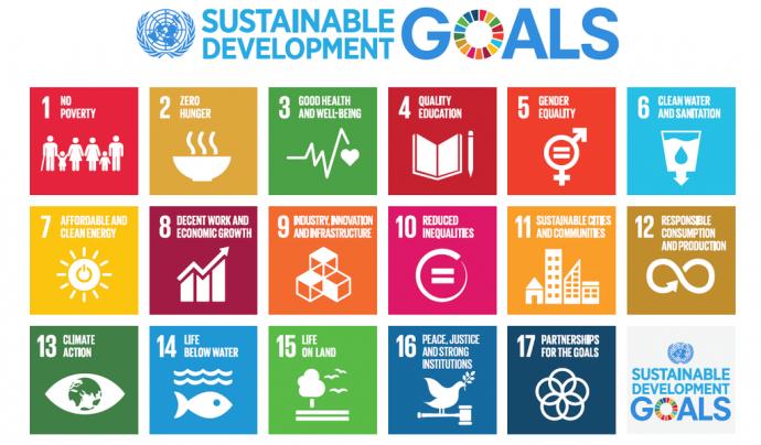 Objectius de l'Agenda 2030.