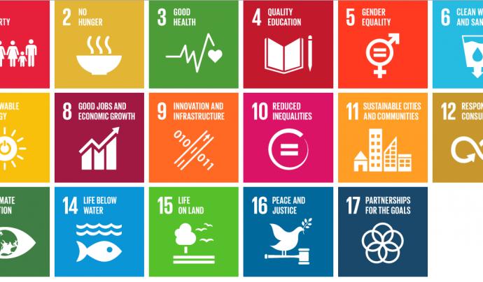 Objectius de l'Agenda 2030. Font: Univision