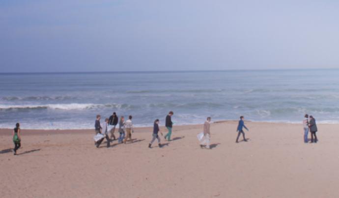 El projecte Platja Neta té un triple objectiu: pedagògica, científica i polític. Font: Ocean Iniciatives