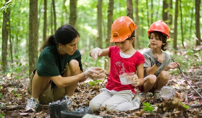 """També als Estats Units hi ha un important moviment de """"Outdoor learning"""""""