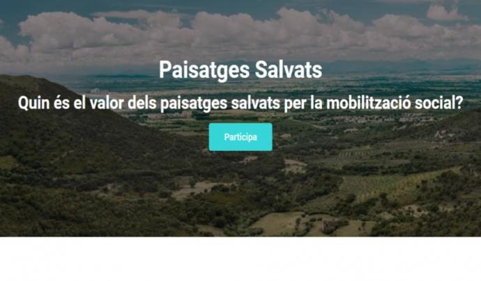 A partir del febrer s'obre un procés participatiu per identificar els valors que representen i aporten els paisatges salvats  Font: Associació de Naturalistes de Girona