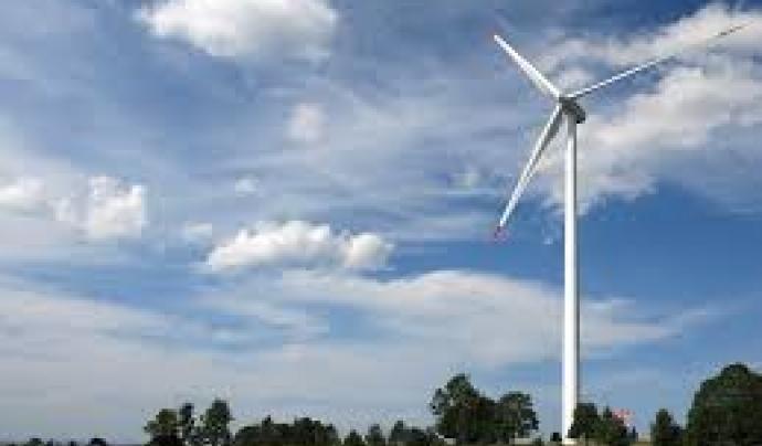 L'energia eòlica, una de les fonts d'energia renovable més importants.