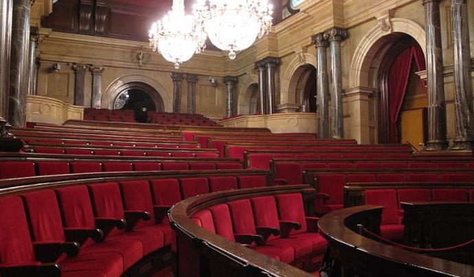 Hemicicle del Parlament de Catalunya