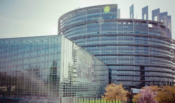 La seu del Parlament Europeu ha viscut una votació que regula els drets d'autoría.  Font: Bringing Europeans Together Association. Llicència d'ús CC BY-SA 4.0