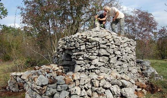 La Unesco promou la pedra seca a patrimoni de la humanitat Font: Eda Belingar, 2014 per Unesco