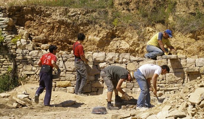 La Fundació El Solà organitza cursos i formacions sobre l'art de la pedra seca Font: Fundació El Solà
