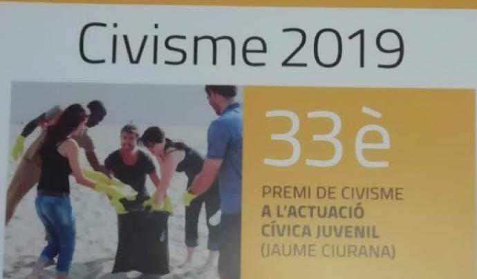 Fins al 15 d'octuubre es poden presentar candidatures al Premi Jaume Ciurana Font: Premi Jaume Ciurana