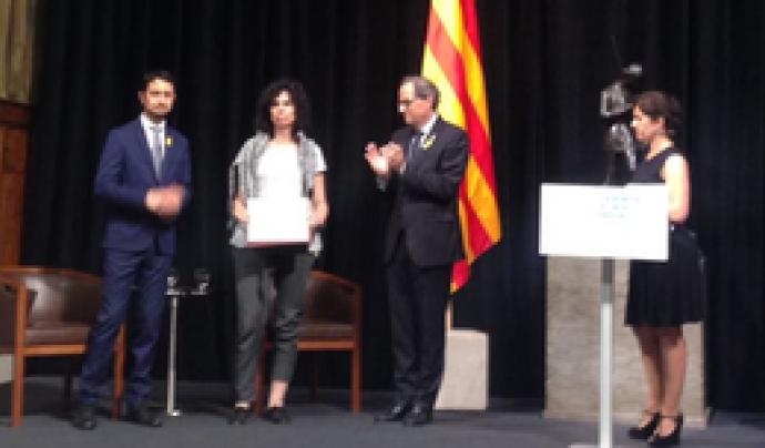 Es va atorgar una menció honorífica a títol pòstum al geògraf Paco Muñoz Gutiérrez, geògraf, pel seu lideratge en la lluita contra el malbaratament alimentari mitjançant la Plataforma Aprofitem els Aliments.