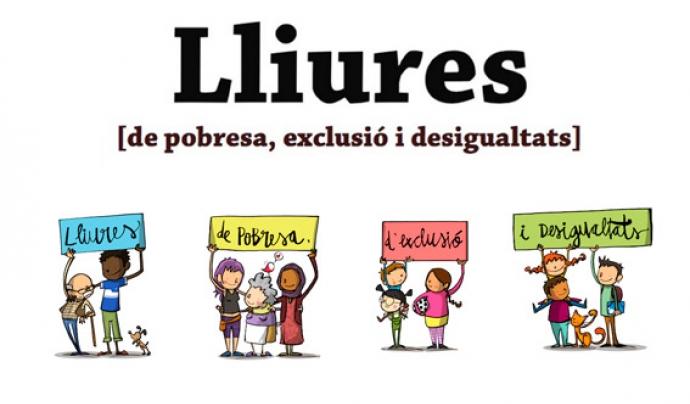 El Projecte Lliures lluita contra la desigualtat i l'exclusió social al territori. Font: Projecte Lliures