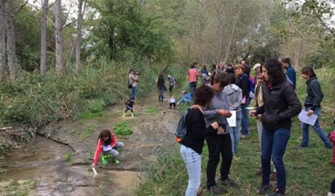 Estan previstes dues sortides formatives a l'octubre al riu Fluvià i a la riera de Can Codina