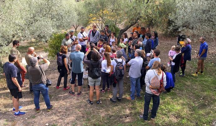Projecte de reintroducció de la tortuga mediterrània Font: Associacó Trenca