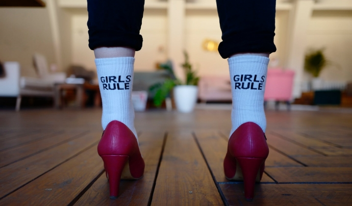 'Les dones no es vesteixen pels homes', 'el meu cos, la meva elecció' o 'les dones canviaran el món' són algunes de les consignes més populars Font: CC