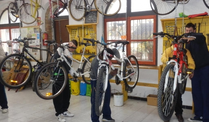 Biciclot promou diverses activitats al voltant de la bicicleta des de fa 30 anys  Font: Biciclot
