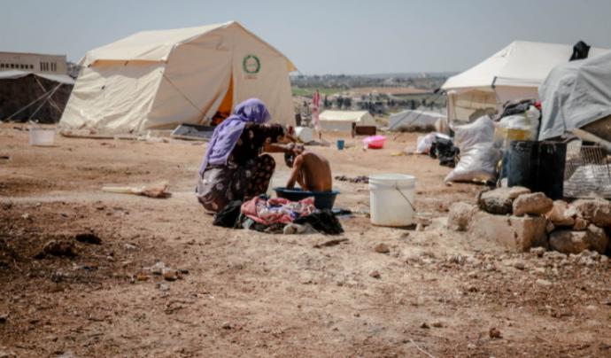 El 2020 va deixar 48 milions de desplaçats degut al canvi climàtic, el Covid-19 i la situació de vulnerabilitat.  Font: Llicència CC