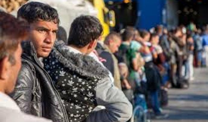 Volunteers for Refugees, projecte de treball amb persones refugiades.