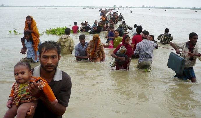 ONG i grrups de treball acadèmics reclamen el reconeixemt de la figura de persona refugiada per causes climàtiques Font: UNDP.org