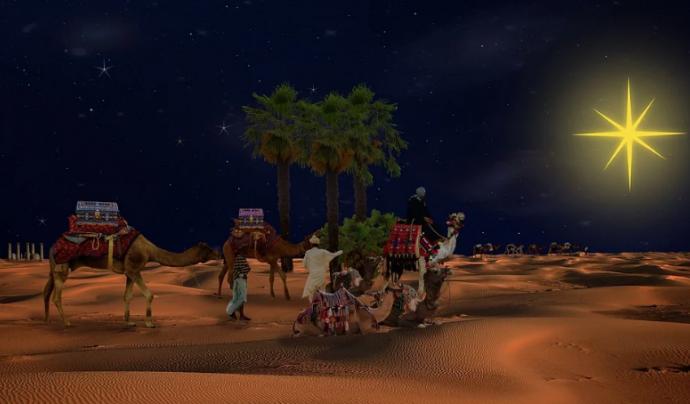 Els Reis d'Orient portaran els regals la nit del 5 i matinada del 6 a tota la ciutadania i a les entitats. Font: Pixabay