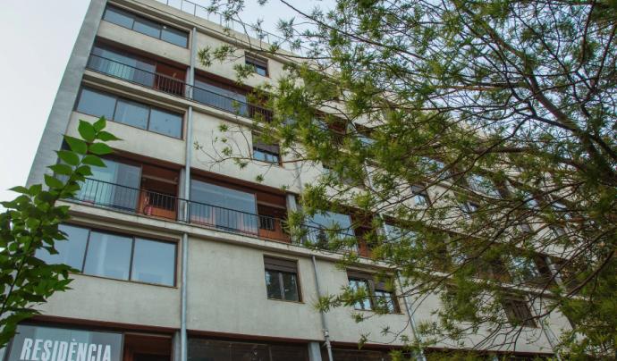 L'edifici residencial es transformarà en 17 habitatges socials per a persones vulnerables. Font: Fundació Hàbitat3